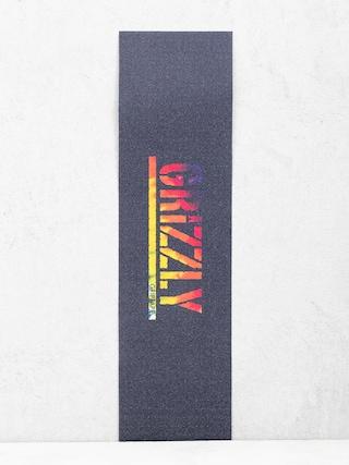 Grip Grizzly Griptape Acid Test Stamp Griptape (tie dye)