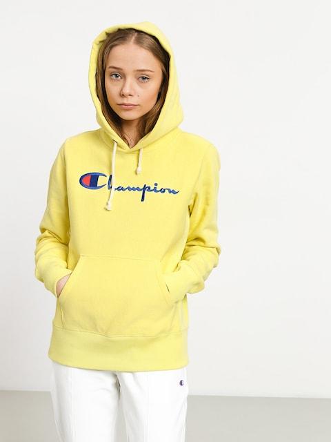 Mikina s kapucí Champion Reverse Weave Hooded Sweatshirt HD Wmn (lml)