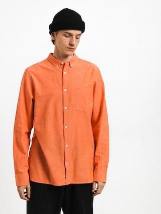 Košile Element Greene Neps Ls (flame)