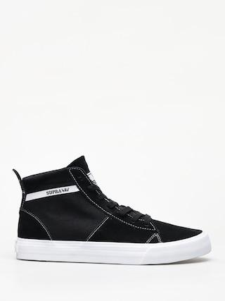 Boty Supra Stacks Mid (black white)