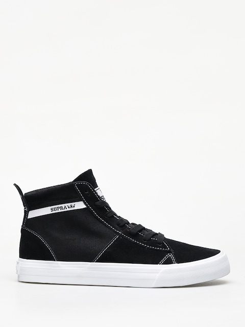 Boty Supra Stacks Mid (black white)