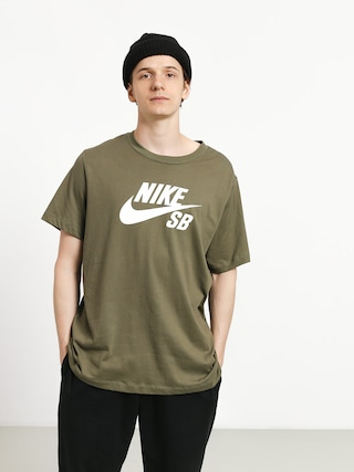 Tričko Nike SB Sb Dri Fit (medium olive/white)