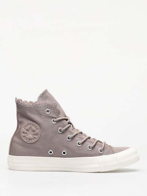 Tenisky Converse Frilly Thrills Chuck Taylor All Star Hi Wmn (sepia stone/sepia stone/egret)