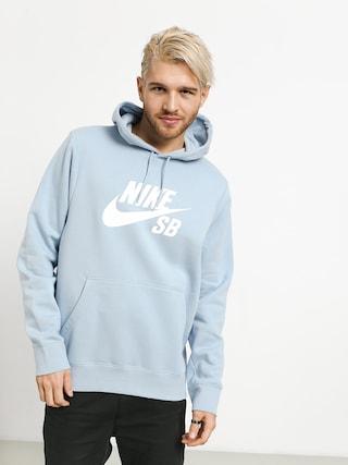 Mikina s kapucí Nike SB Sb Icon HD (lt armory blue/white)