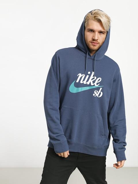 Mikina s kapucí Nike SB Sb Hoodie Washed Icon HD