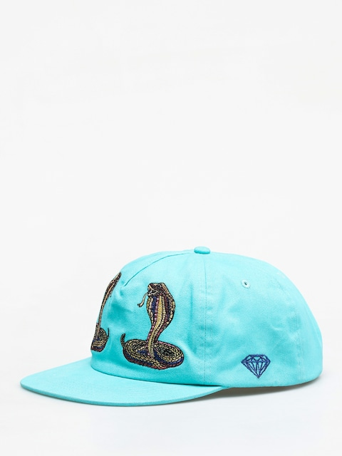Kšiltovka  Diamond Supply Co. Cobra Unstructured Strapback ZD (diamond blue)