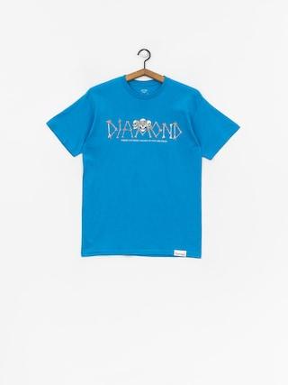 Tričko Diamond Supply Co. Secrets Die (turquise)