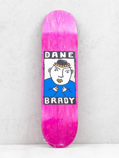 Deska Polar Skate Dane Brady Portrait (pink)
