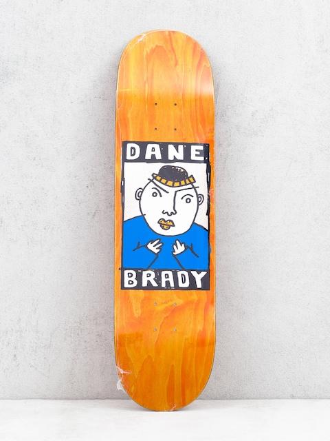 Deska Polar Skate Dane Brady Portrait (orange)