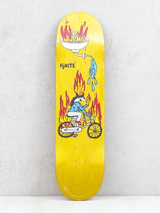 Deska Polar Skate Hjalte Halberg Fire Ride (yellow)