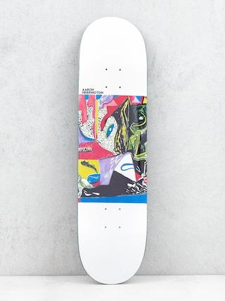 Deska Polar Skate Aaron Herrington Scattered (white)