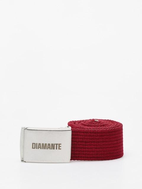 Pásek Diamante Wear Diamante Classic (burgundy)