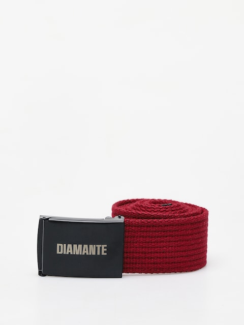 Pásek Diamante Wear Diamante Classic (burgundy/black)