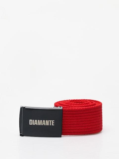 Pásek Diamante Wear Diamante Classic (red/black)
