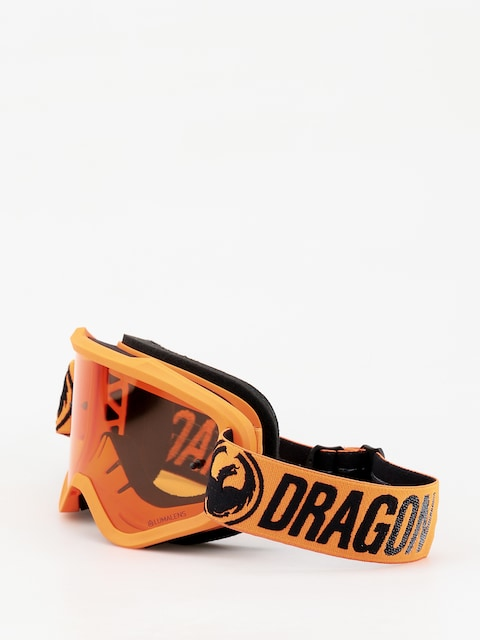 Brýle na snowboard Dragon MXV (break orange/lumalens amber)