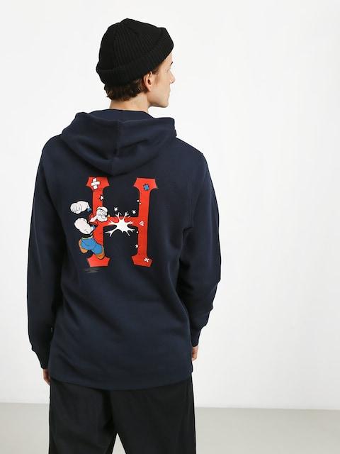 Mikina s kapucí HUF Popeye Skates HD