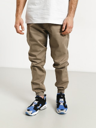 Kalhoty El Polako Skórka Jogger Slim (beige)