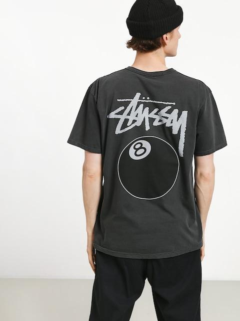 Tričko Stussy 8 Ball Pig Dyed (black)