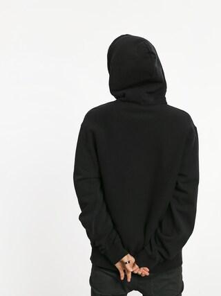 Mikina s kapucí Stussy Stock Logo HD (black)