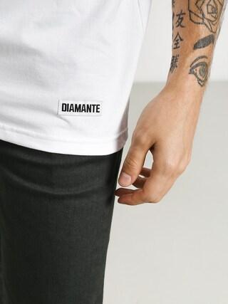 Tričko Diamante Wear Całą Noc & Cały Dzień (white)