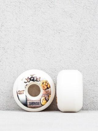 Kolečka Bones Joslin Cookies Streettech Formula V5 (white/brown)