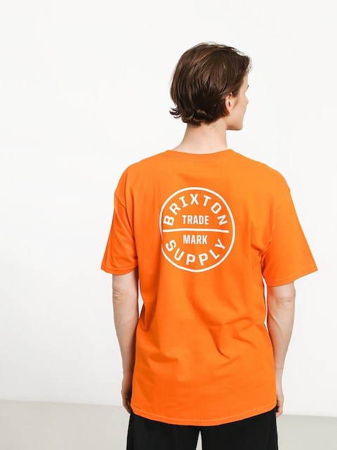 Tričko Brixton Oath Stt (orange)