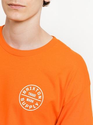 Tričko Brixton Oath Stt (orange)