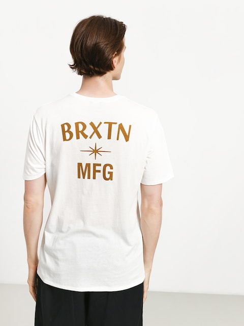 Tričko Brixton Luster Pkt (offwh)