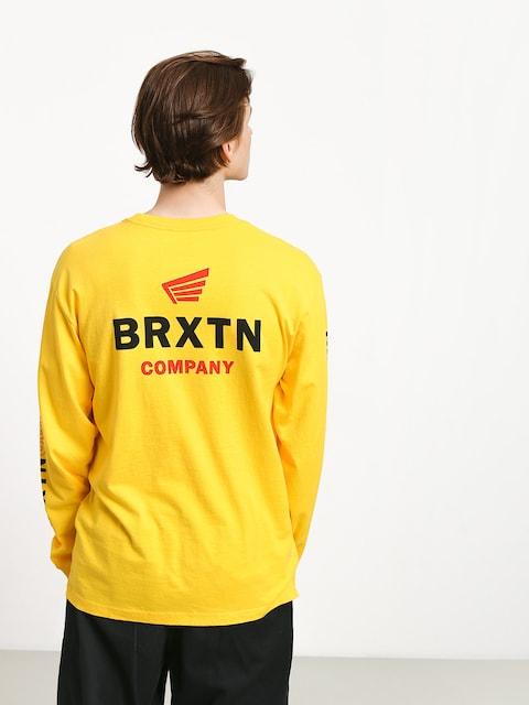 Triko Brixton Peabody II Sv (yellow)