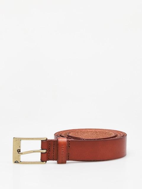 Pásek Quiksilver Slim Premium Leather (chocolate brown)