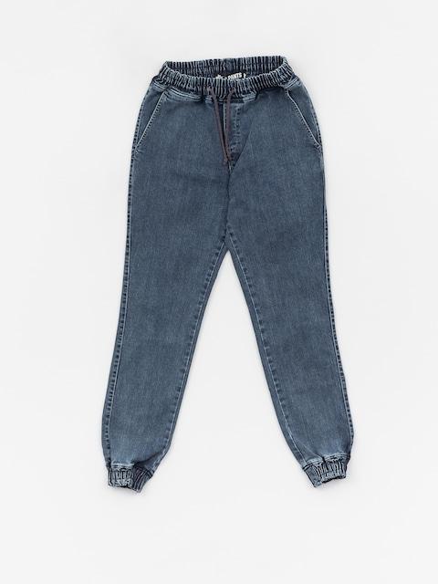 Kalhoty Diamante Wear Rm Jeans Jogger (blue marmur jeans)