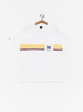 Tričko Malita Stripes (white)