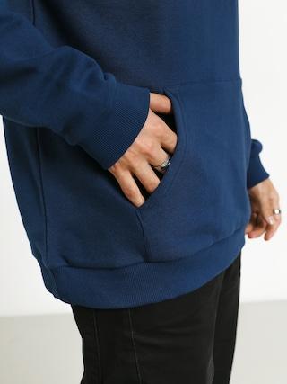 Mikina s kapucí Brixton Palmer Intl HD (deep blue)
