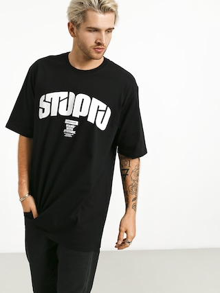 Tričko Stoprocent Future Retro (black)