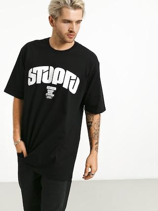 Tričko Stoprocent Future Retro (black)
