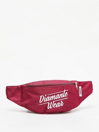 Ledvinka Diamante Wear Diamante Logo Big (burgundy)