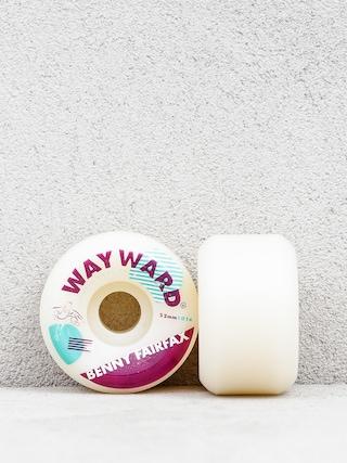 Kolečka Wayward Benny Fairfay (white/burgundy)