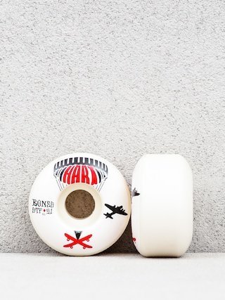 Kolečka Bones Hart Drop Boards Streettech Formula V1 (white/black/red)