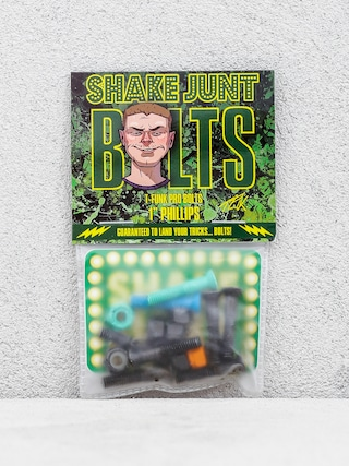 Šroubky Shake Junt T Funk (black/green/blue)