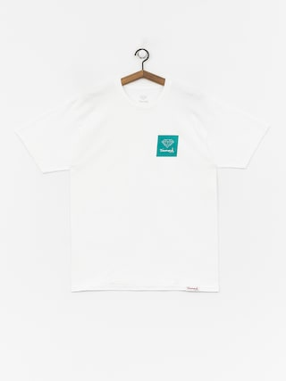 Tričko Diamond Supply Co. Mini Og Sign (white/green)