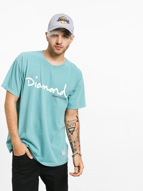 Tričko Diamond Supply Co. Og Script Overdye