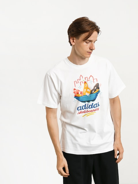 Tričko adidas Urgellotee (white/multicolor)