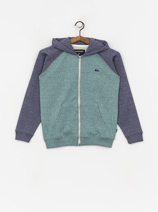 Mikina s kapucu00ed Quiksilver Every Day ZHD (mdival bl/strmys htr)