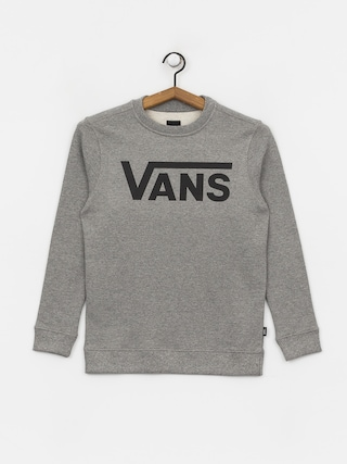 Mikina Vans Classic Crew (cement heather/black)
