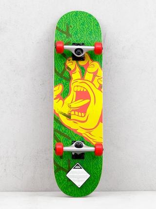 Skateboard Santa Cruz Hando Taper (green/yellow)