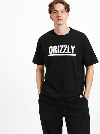 Triu010dko Grizzly Griptape Stamp (black/white)