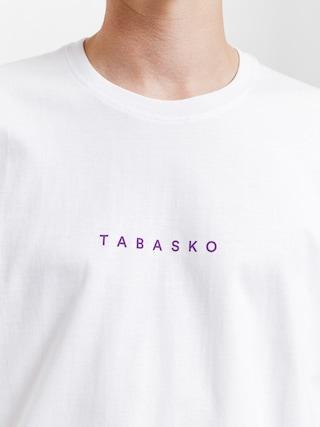 Tričko Tabasko Circle (white)