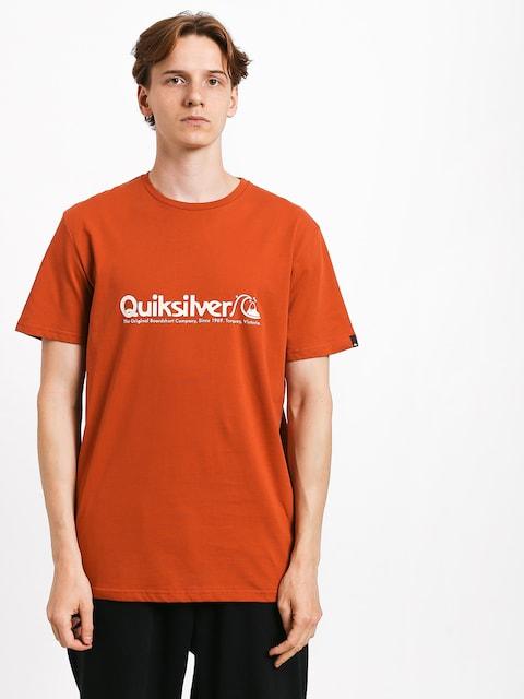 Tričko Quiksilver Modern Legends (burnt brick)