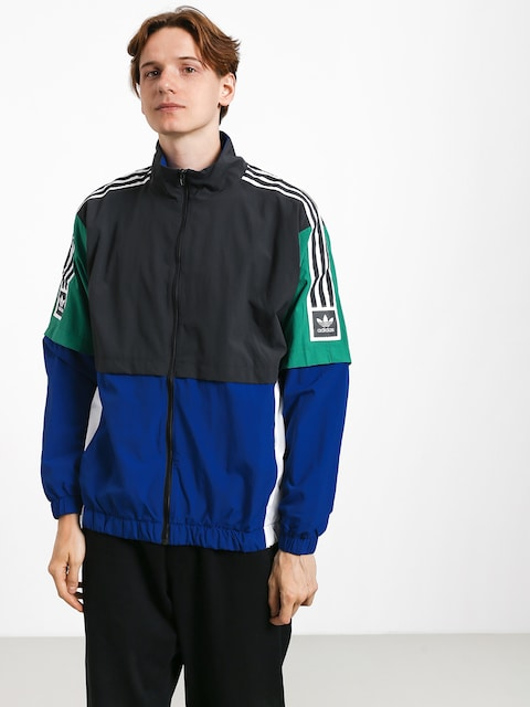 Bunda adidas Stdrd 20 (carbon/collegiate royal/bold green/white)