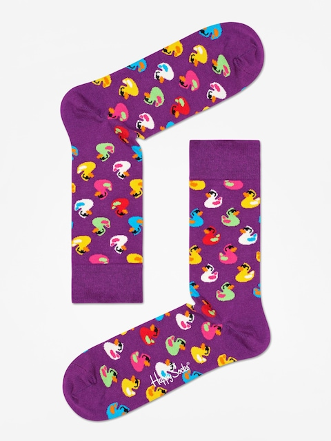 Ponožky Happy Socks Rubber Duck (purple)